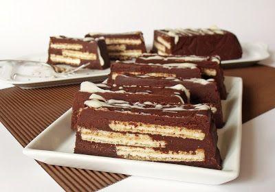Citromhab: Csokoládés szelet nápolyival