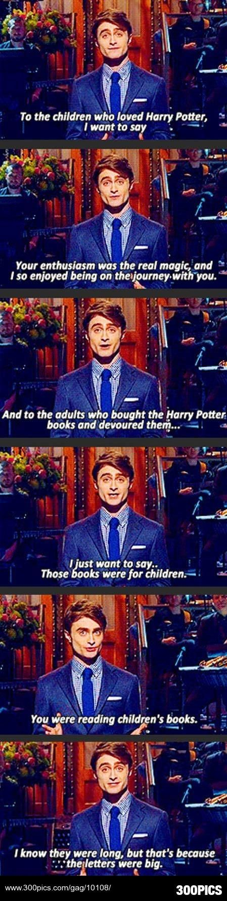 To all the older Harry Potter fans out there - 300Pics