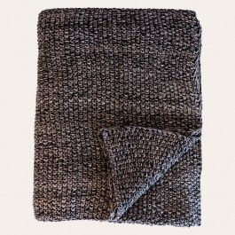 Made of exceptionally soft cotton in a smart two colour-toned chunky-knit style, this moss stitch throw is prefect for adding an extra layer of colour, texture and cosy comfort to your bed, chair or sofa.