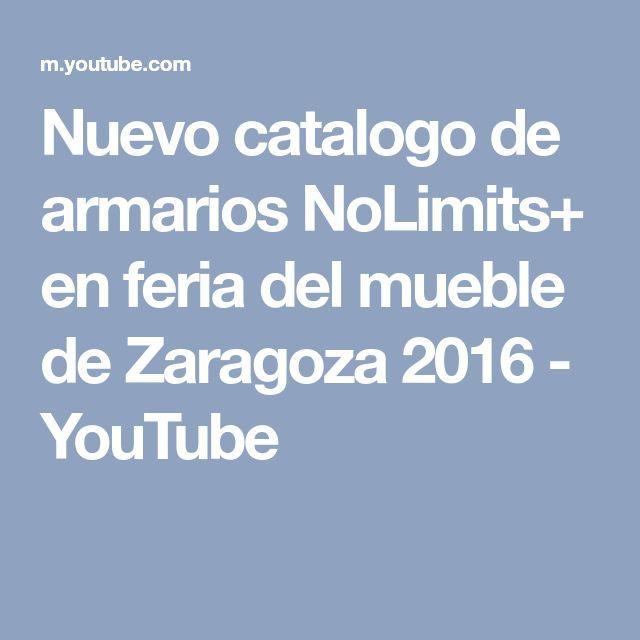 Nuevo catalogo de armarios NoLimits+ en feria del mueble de Zaragoza 2016 - YouTube