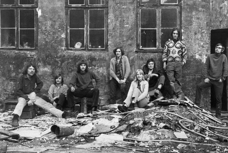 1970. Besættelse af tomme ejendomme i murergade på Nørrebro