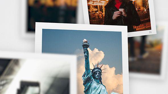 Square Premiere Slideshow Premiere Pro Template Photo Slideshow Square Photos Social Media Photography