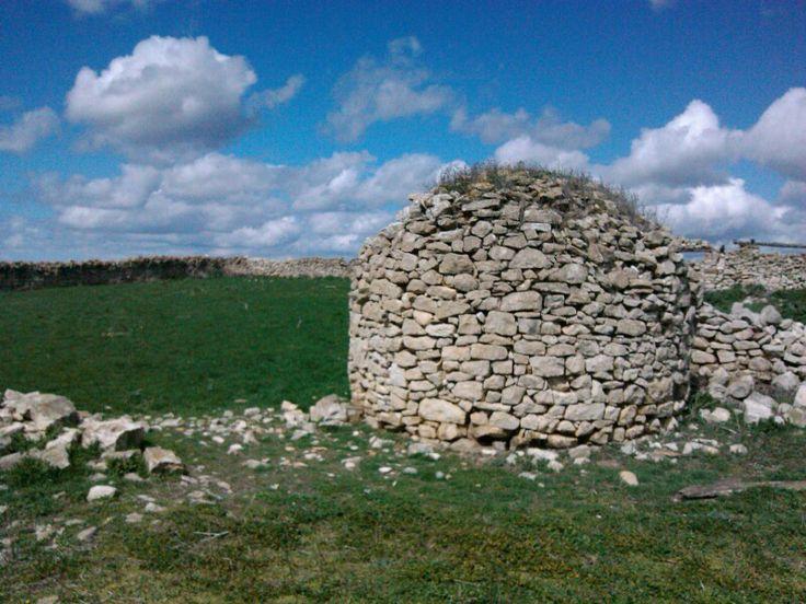 Antigua cabaña de pastores en #Navarra