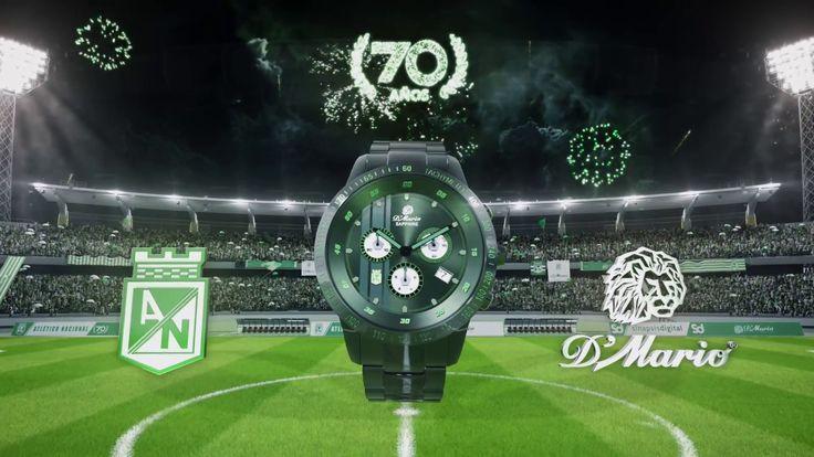 Nuevo Reloj D'Mario - Atlético Nacional 70 Años