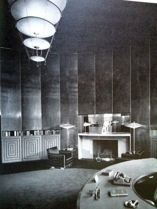Design By Joseph Urban For New York Socialite And Rider Katherine Brush In 1932 Art Deco