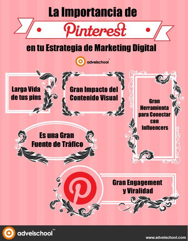 La Importancia de #Pinterest en tu Estrategia de Marketing Digital