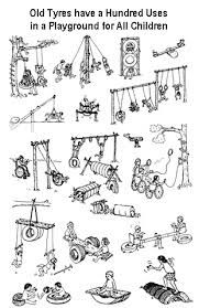 play ground tyre - Google Search