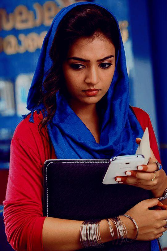 """indian-actress: """" """"Nazriya Nazim as Shahana in Salalah Mobiles """" """""""