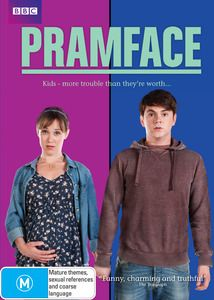 Pramface - Series 1. Meet Jamie, 16, and Laura, 18. They are two teenagers who after one too many drinks, some deceptive party lighting and an available bedroom find they have one very big complication on their hands - Laura is pregnant! The only problem is, she's meant to be heading off to university and Jamie is way too young to be considering raising a kid. $29.99