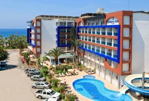 #Antalya - #AntalyaHotels - #Alanya - Gardenia Hotel - http://www.antalyahotels724.com/alanya/gardenia-hotel - Hotel Information:  Address: Saray Mah.Müzelyalı Cad.No:38, 07400 Alanya, Alanya        Just 50 metres from Cleopatra Beach, Gardenia Hotel gives snug rooms with air con and satellite tv for pc TV. Most of the rooms have sea view. Facilities embrace an outside pool with water slide. All rooms at Hotel Gardenia are outfitted with a minibar,