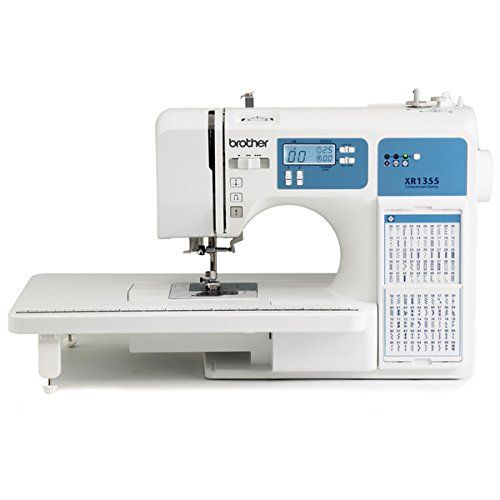 Take your sewing or quilting to the next level with this refurbished 185-stitch computerized sewing machine from Brother. This machine is portable to allow easy transport and has an adjustable sewing ...