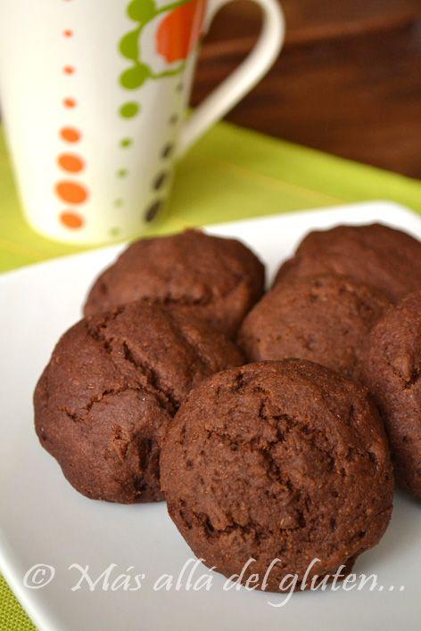 Más allá del gluten...: Pancitos Dulces de Quinua y Chocolate (Receta GFCFSF, Vegana)