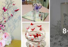 Aprende Como Hacer BELLOS Centros De Mesa Con Mariposas… ¡¡Te Gustarán ESTAS Ideas Especialmente La #7!!