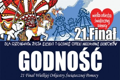 The 21st Grand Finale of WOŚP – The Biggest Charity Event in Poland!   Link to Poland