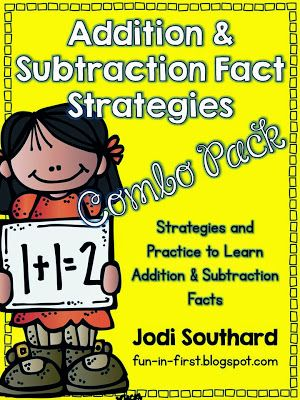 Fact Strategies {Includes anchor charts, songs, and practice pages}