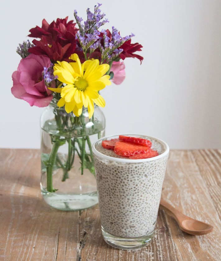 Date and Chia Pudding | Deliciously Ella
