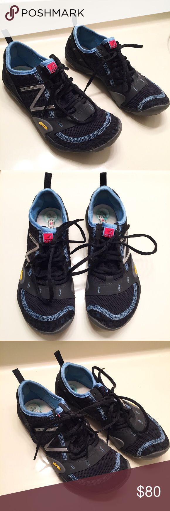 New Balance Minimus Vibram Sneakers size 8 These sneakers have been worn only one time and are in excellent condition. Women's size 8. New Balance Minimus Vibram Sneakers New Balance Shoes Sneakers