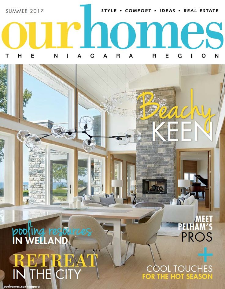 OUR HOMES Niagara Summer 2017. Read more of this issue at http://www.ourhomes.ca/articles/blog/article/on-stands-our-homes-niagara-summer-2017