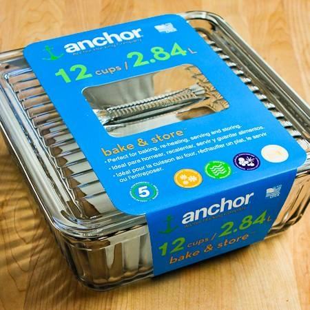 This Anchor Hocking Bake & Store dish I found at Home Goods is now my very favorite baking dish for casseroles!