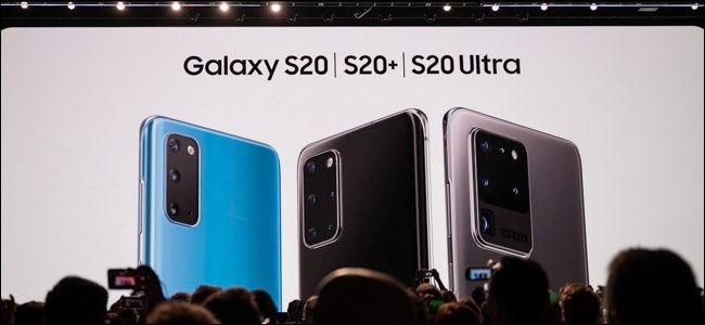 جوستين دوينو واحدة من الميزات الرئيسية في Samsung Galaxy S20 و S20 و S20 Ultra هي شاشة 120 هرتز ولكن يتم شحن الهواتف مع تع Galaxy Samsung Samsung Galaxy