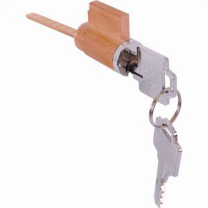 Sliding Glass Door Keyed Cylinder Lock