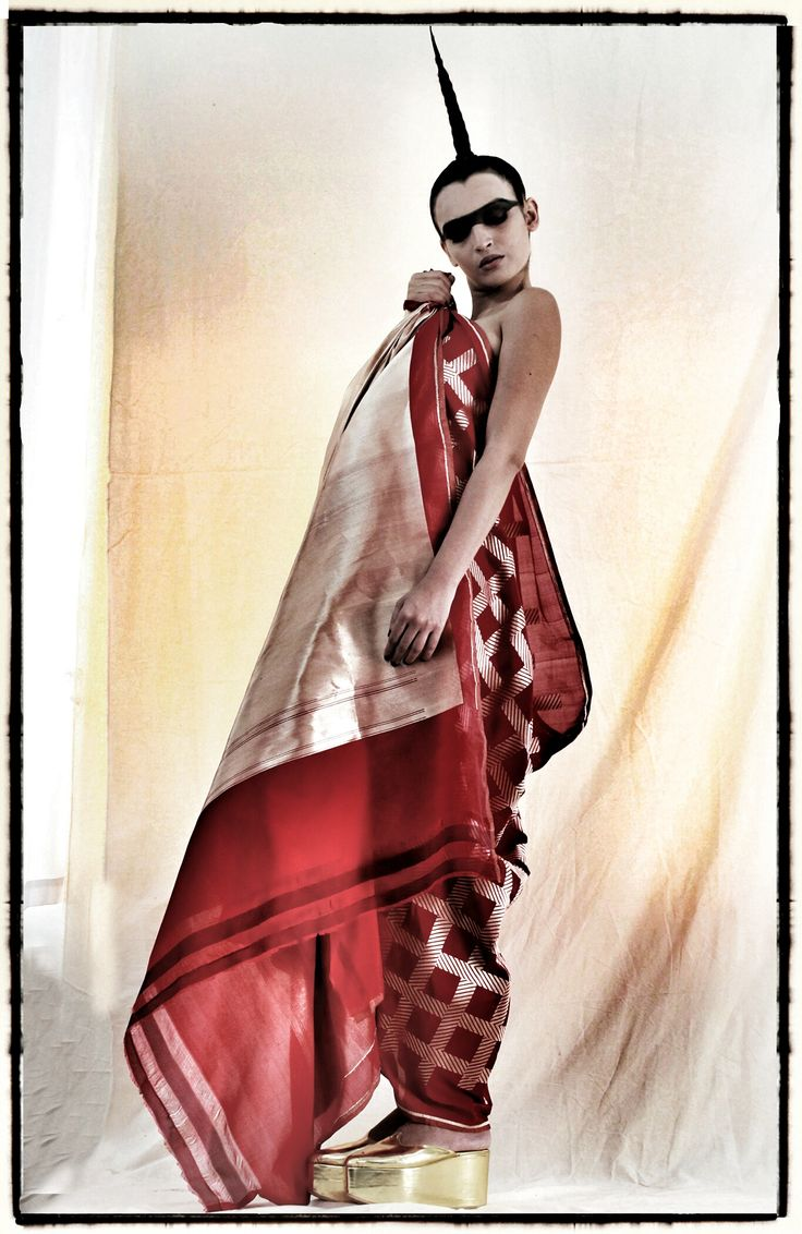 Benares brocade sari by Abraham & Thakore for Ekaya