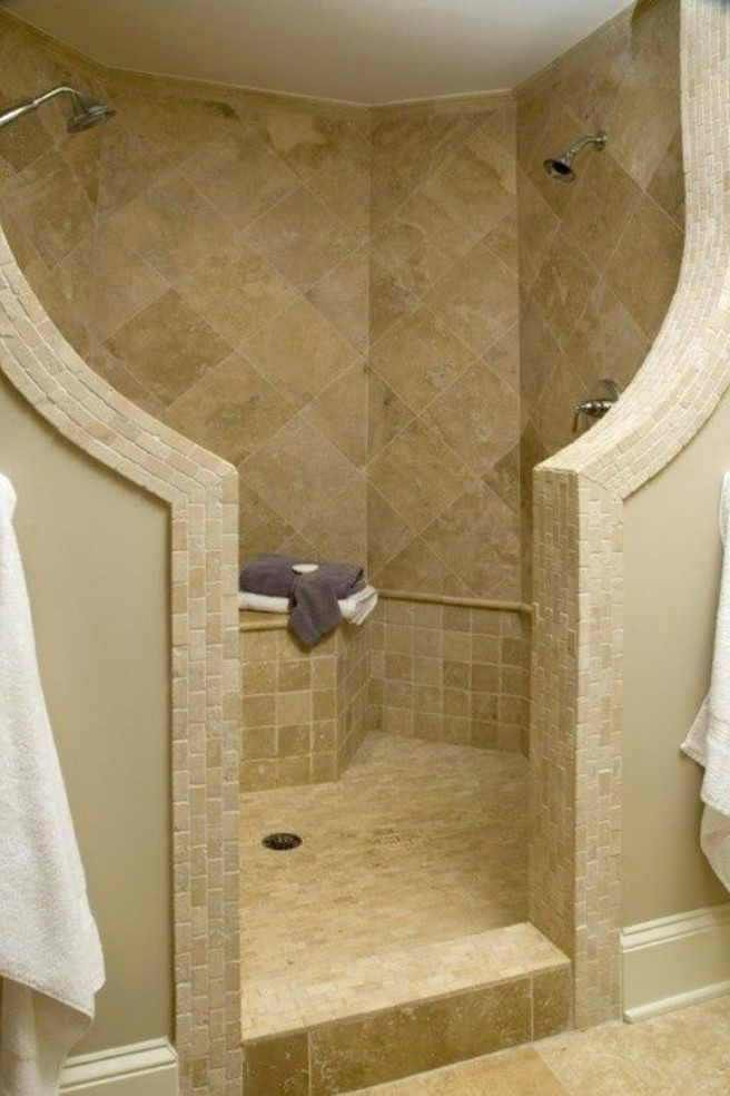 Walk In Shower No Door Awesome Walk In Showers No Doors For Modern