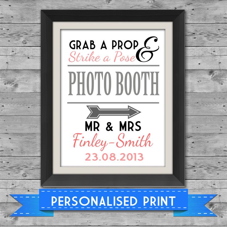 Photobooth sign - ebay