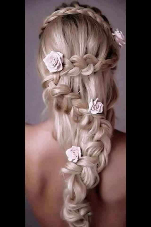 Repunzel hairdo #repunzel #weddinghairstyles