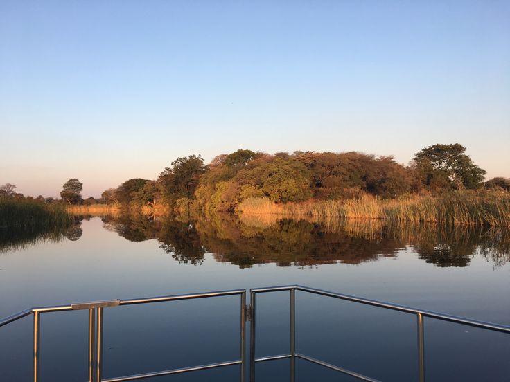 Kwando river, Namibia, Caprivi