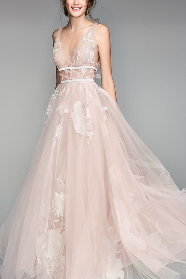 7 Nordstrom Wedding Dresses That Are Totally Swoon Worthy In 2020 Nordstrom Wedding Dresses Pink Wedding Dresses Tailored Wedding Dress