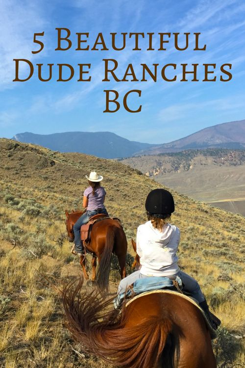 Discover the top 5 dude ranches in BC. These popular guest ranches are all family-friendly too!