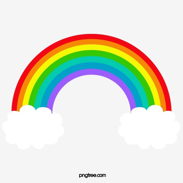 قوس قزح رسوم متحركة قوس المطر سحاب Png وملف Psd للتحميل مجانا Arco Iris Desenho Decoracao Arco Iris Arco Iris