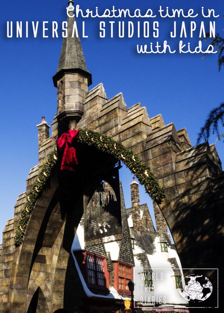 Universal Studios Japan with kids during winter: we did it! Click to know more!