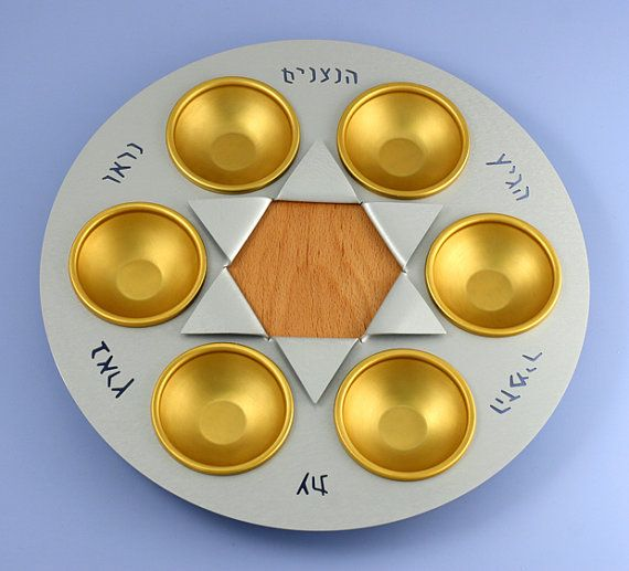 Hey, I found this really awesome Etsy listing at https://www.etsy.com/il-en/listing/251065803/passover-seder-plate-nitsanim-made-by