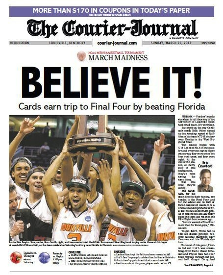 It's a good day to be a University of Louisville basketball fan.