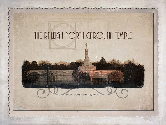 Raleigh North Carolina Temple by AltusPhotoDesign on Etsy, $15.00, Digital File, PIY as many times as you'd like!