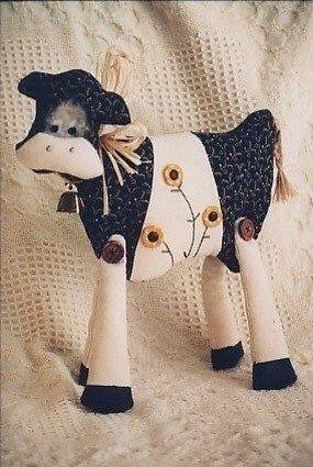 Free Cow Pattern Celeste 1/3