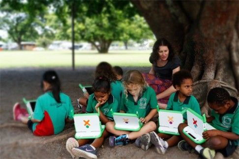 One laptop per child Australia - connecting the outback.