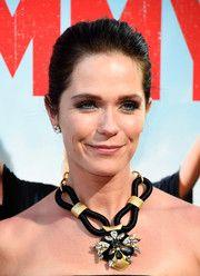 Katie Aselton Black Statement Necklace