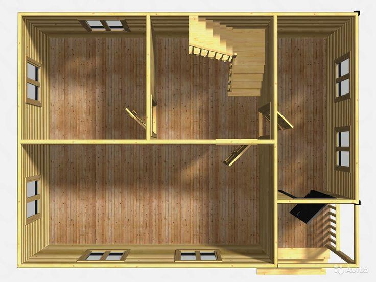 Дом большой, двухэтажный, проект Д83 — фотография №3