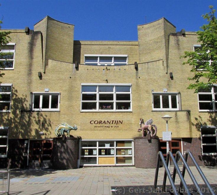 Dienst Publieke Werken, dubbele lagere school, Corantijnstraat, Amsterdam 1922-1923