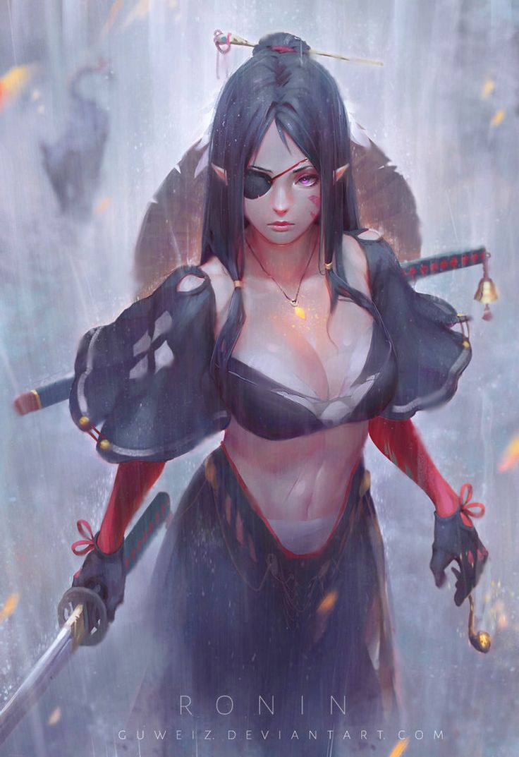 "exotication: ""Ronin by GUWEIZ """