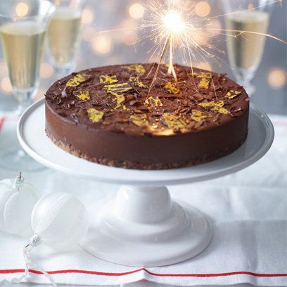 Celebration-perfect, try Heston Blumenthal's spiced popping candy chocolate tart. For the recipe, click the photo, or go to www.redonline.co.uk