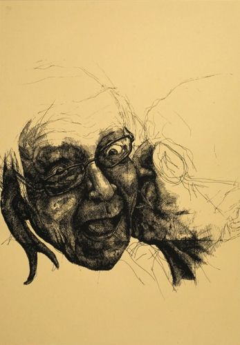 Thomas Pålsson – Untitled (Kiss). Serigrafi, 100 x 70 cm. Oplag: 15. Pris: 1.100 kr.