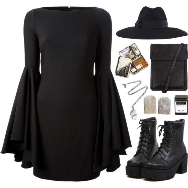 A fashion look from January 2014 featuring Plein Sud dresses, Ann Demeulemeester messenger bags and Pamela Love necklaces. Browse and shop related looks.
