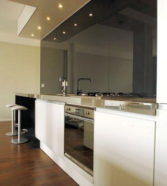 Placas de vidrio para revestimiento buscar con google - Vidrio templado cocina ...