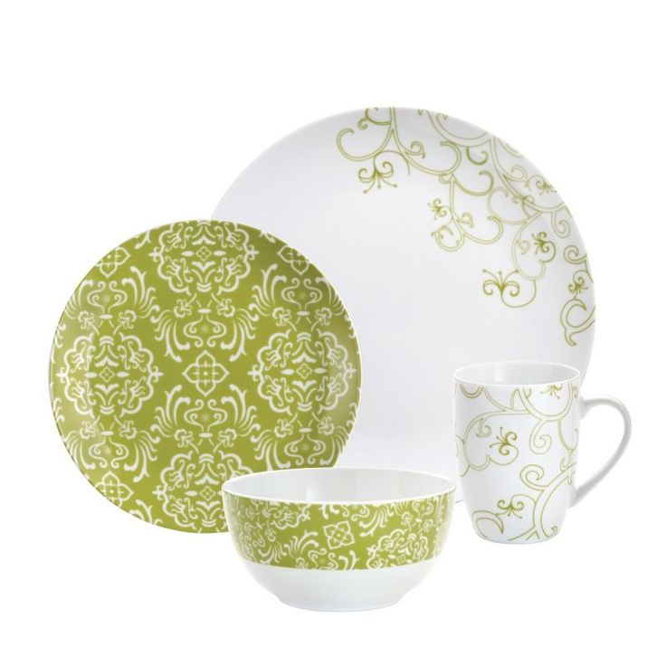 Dinnerware Sets Product | Rachael Ray Dinnerware 4-Piece Dinnerware Set  sc 1 st  Pinterest & 57 best Dinnerware Sets images on Pinterest | Dinnerware sets Dish ...