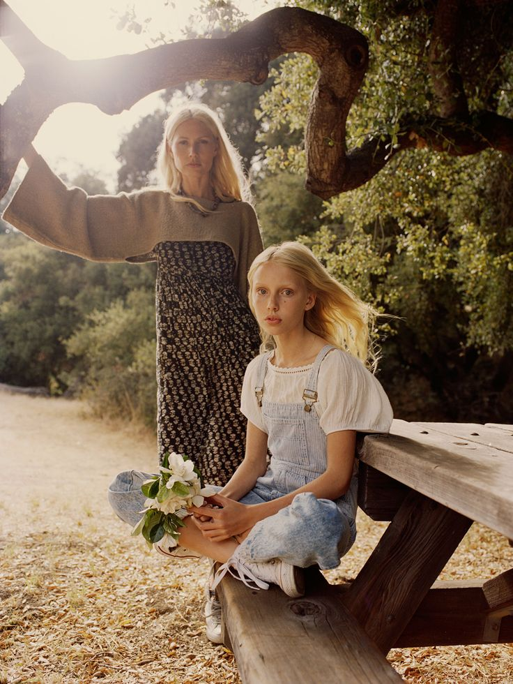 Topanga Afternoon with Kirsty Hume and Violet   DÔEN   www.shopdoen.com
