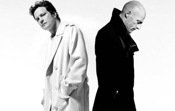 Colin Firth & Mark Strong #ColinFirth #MarkStrong